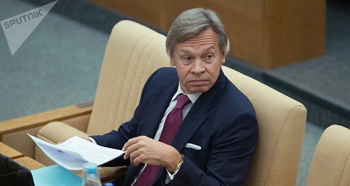 Le sénateur russe Alexeï Pouchkov