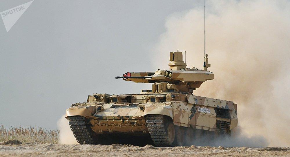 Un BMPT russe du nouveau type «Terminator»