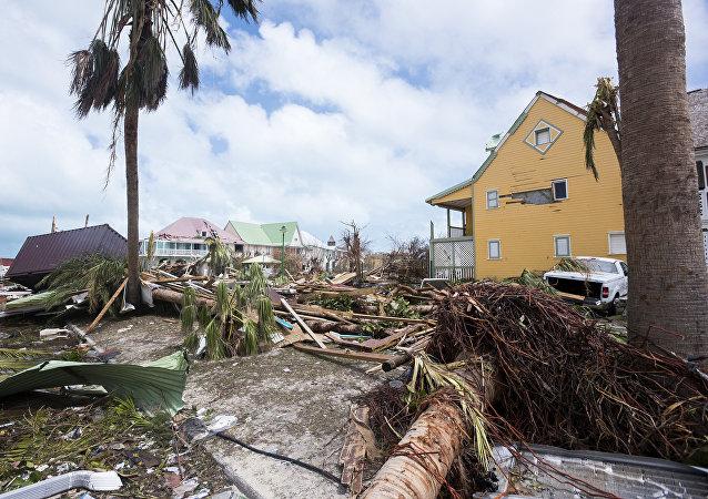Dommages provoqués par l'ouragan Irma