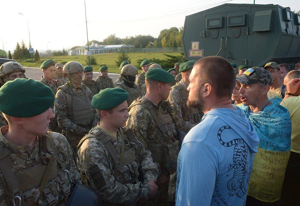 Situation à la frontière entre l'Ukraine et la Pologne