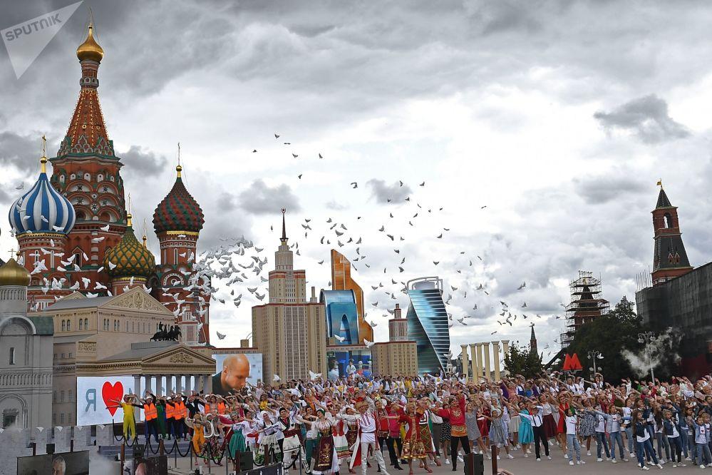 Les festivités consacrées au 870e anniversaire de Moscou