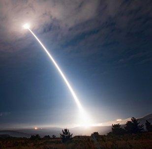 Un tir d'essai de missile Minuteman III