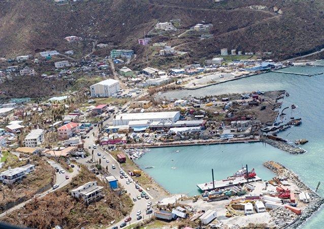 les îles Vierges britanniques, ravagées par l'ouragan Irma