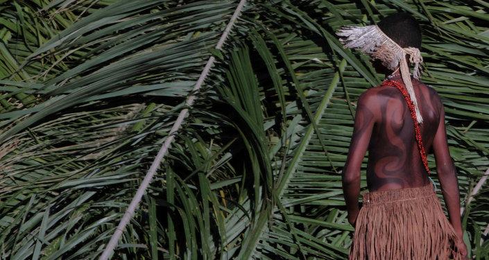 Un indien amazonien