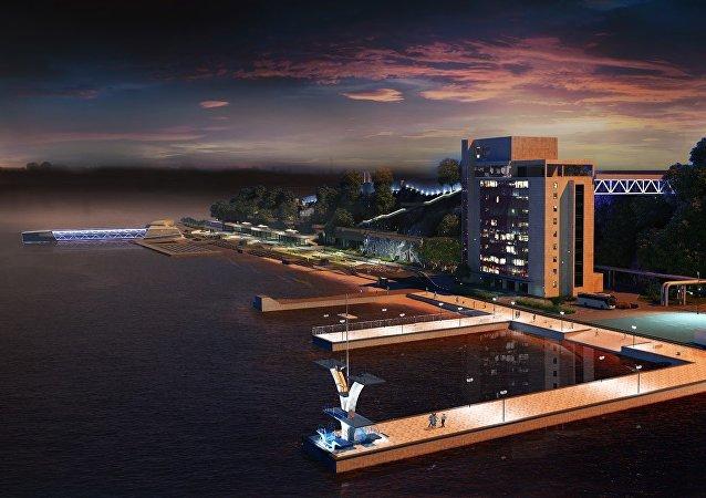 Projets d'aménagement d'espaces publics à Vladivostok