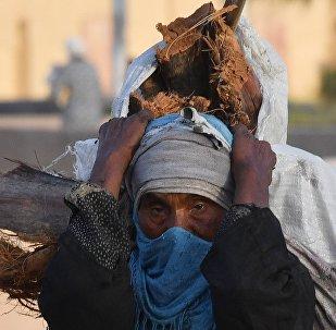 Une habitante de Deir ez-Zor