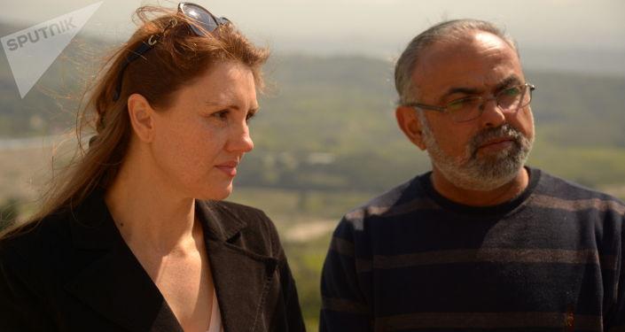 Irina et Ibrahim Assaf