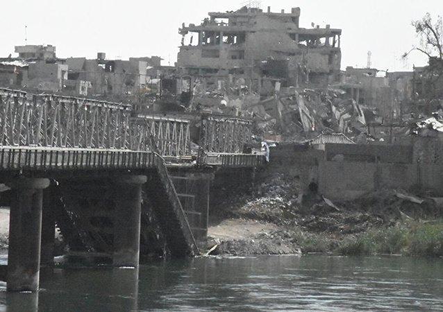 Les quartiers de Mossoul dévastés par les combats