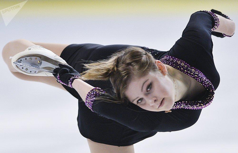 Юлия Липницкая (Россия), архивное фото