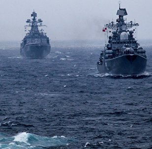 Exercices russo-chinois Joint Sea 2015 (image d'archives)