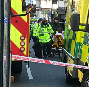 Les ambulanciers à Londres