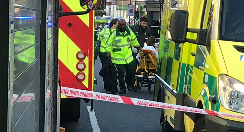 Les ambulanciers à Londres