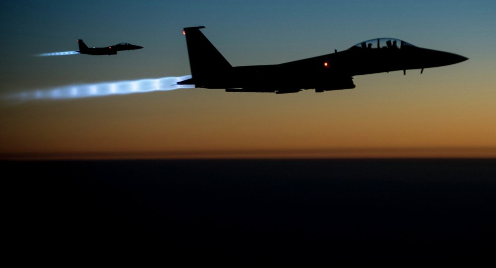 US Air Force F-15E Strike Eagles