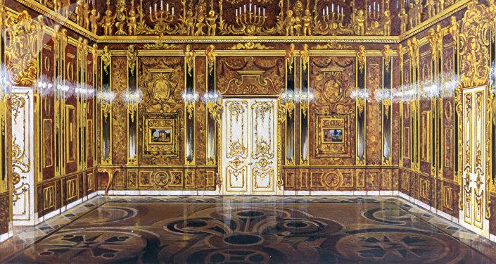 On aurait retrouv la chambre d ambre vol e par les nazis - Saint avre la chambre ...
