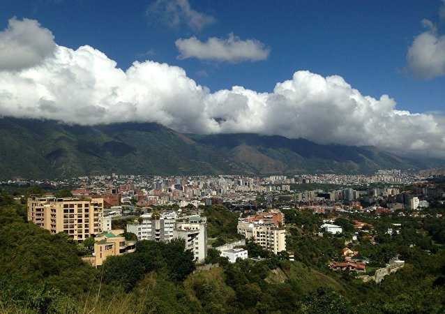 View of Caracas, Venezuela