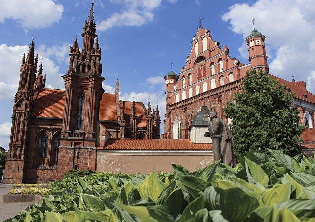 Vilnius, capitale de la Lituanie