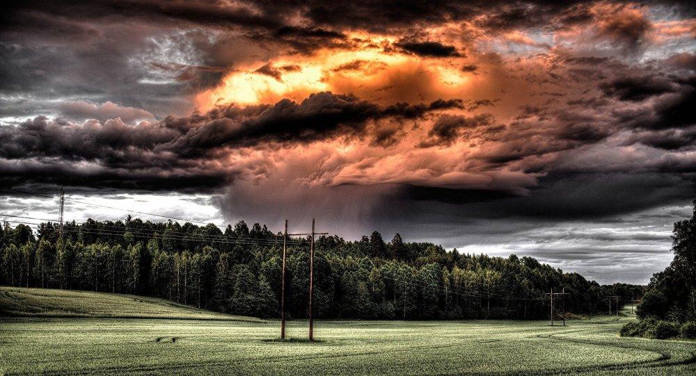 tempête, image d`illustration