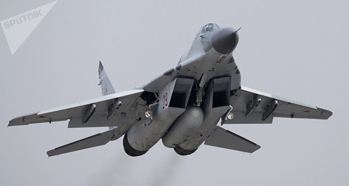 MiG-29SMT. Archive photo