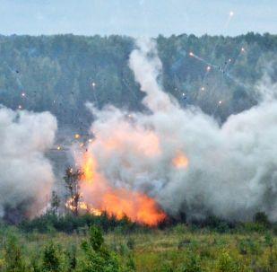 En mer, sur terre, en l'air: les manœuvres russo-biélorusses Zapad 2017