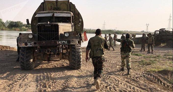 Les troupes gouvernementales syriennes, image d'illustration