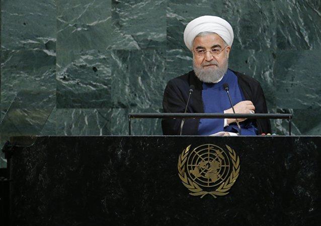 Hassan Rohani à la 72e Assemblée générale des Nations unies