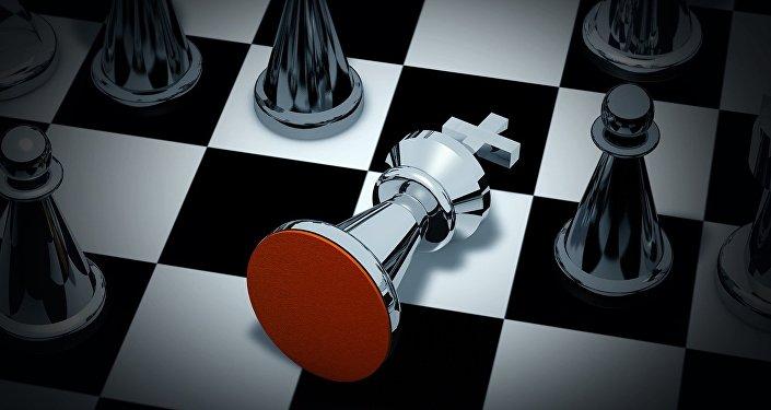 L'échecs. Image d'illustration