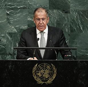 Sergueï Lavrov à l'AG de l'Onu.