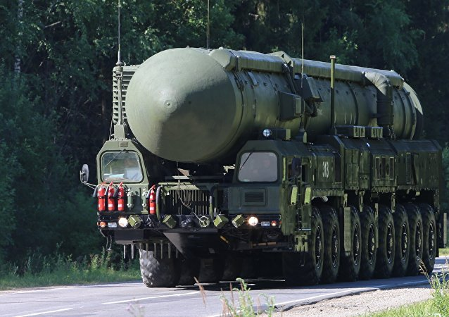 Sergei Shoigu inspects Teykovo Guards Missile Division and Yars land-based mobile missile system