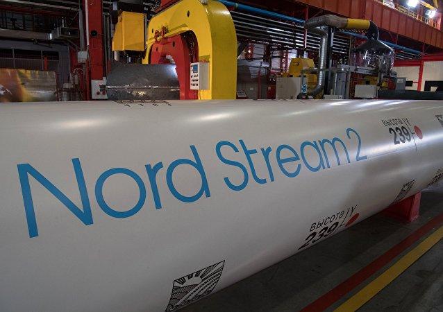 Les tubes du gazoduc Nord Stream 2