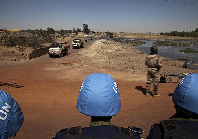 Casques bleus de l'Onu au Mali