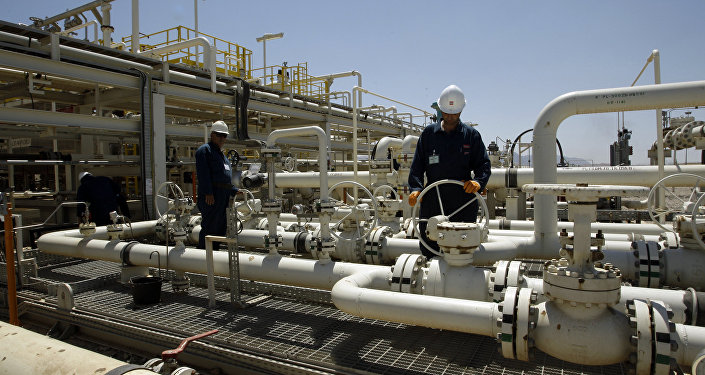 Une raffinerie de pétrole située dans le Kurdistan irakien