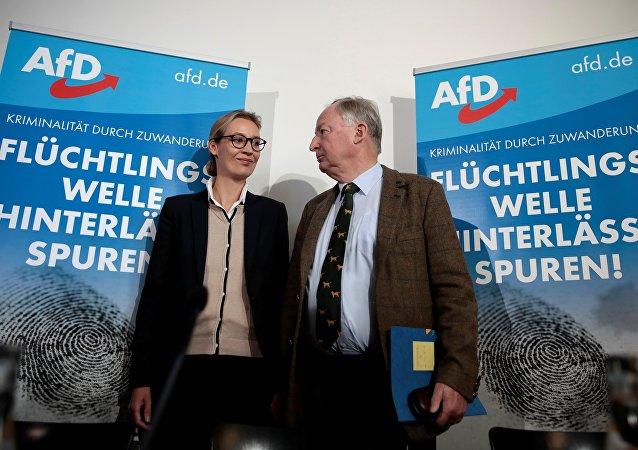 L'allemagne a choisi une «Alternative» au Bundestag