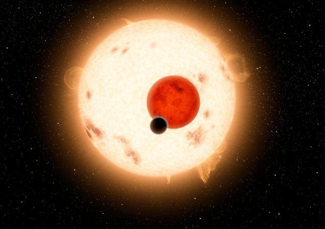 Un système planétaire possédant deux étoiles Kepler-16