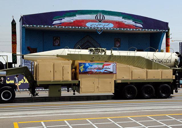 Le nouveau missile iranien Khorramshahr