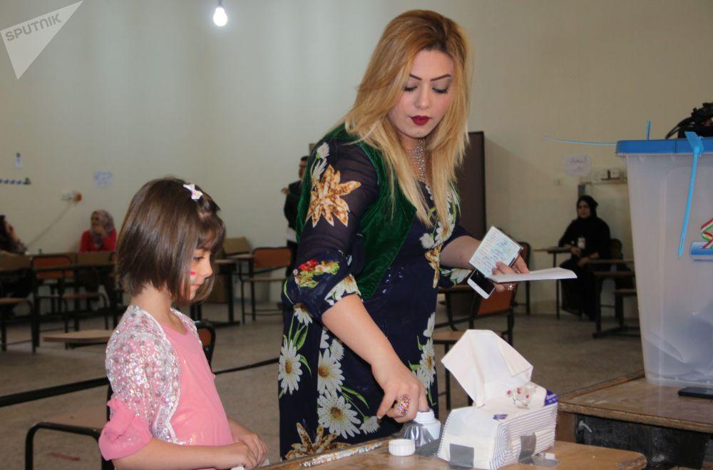 Les visages féminins du référendum kurde