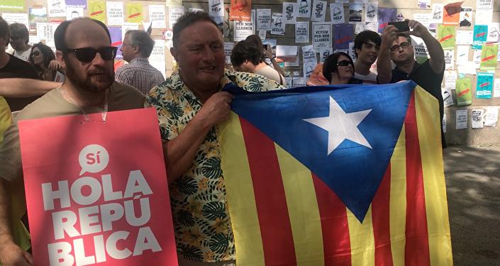 Dernière semaine avant le référendum en Catalogne