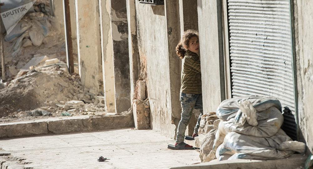 La fillette, Syrie