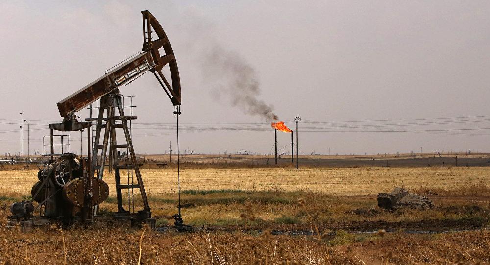 Extraction de pétrole en Syrie