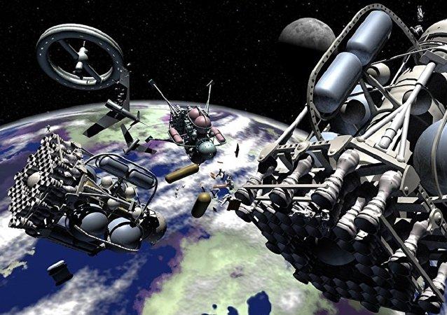 Vaisseau spatial (image d'illustration)