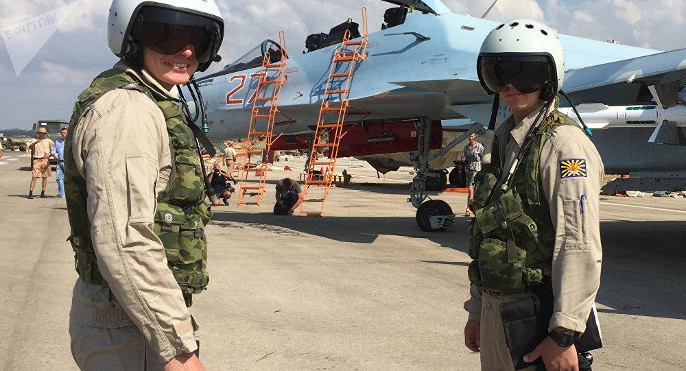 Pilotes russes à Hmeimim