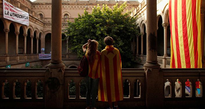 Partisans de l'indépendance de la Catalogne