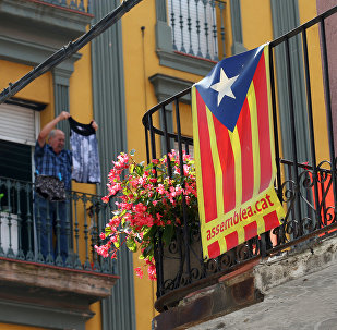 Drapeau indépendantiste catalan