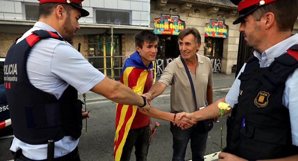 Los Mossos d'Esquadra, la police catalane
