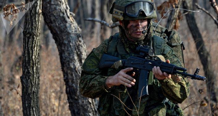 Militaire de l'armée russe