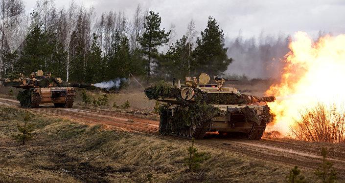 Char américain M1 Abrams