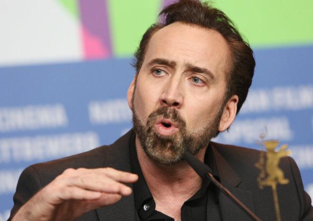 Nicolas Cage, acteur américain