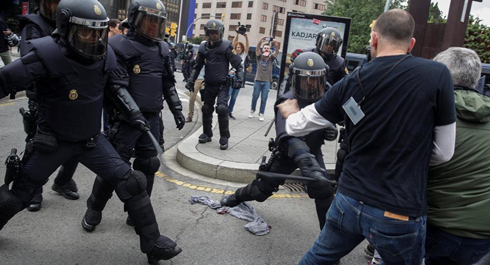 Violence policière en Catalogne