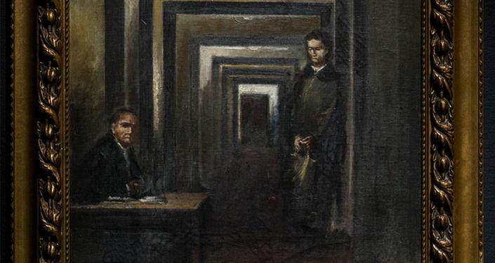La toile d'Adolf Hitler (sans titre)