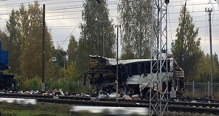 Сollision train/bus au nord-est de Moscou
