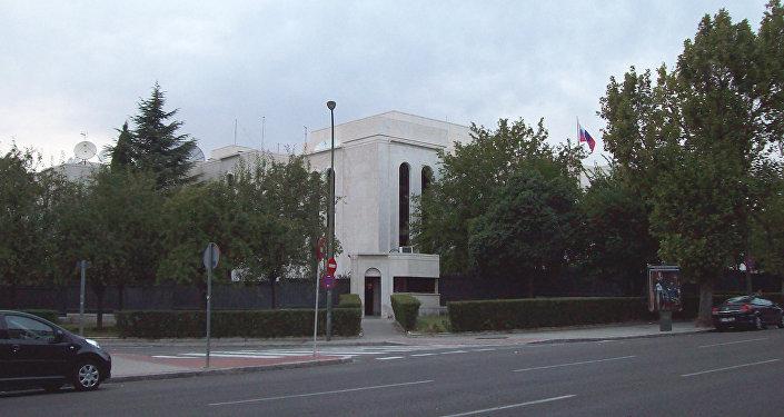 L'ambassade de Russie à Madrid